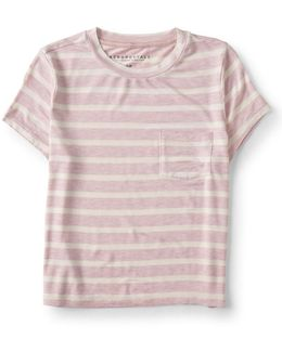 Striped Pocket Baby Tee