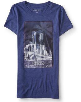 Tropical City Graphic T