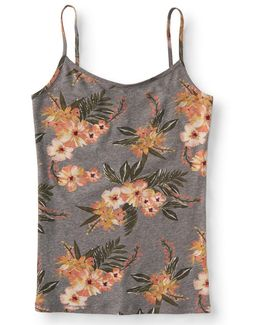 Tropical Floral Basic Cami