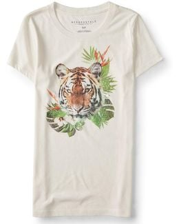 Tropical Tiger Graphic T