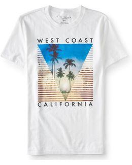 West Coast California Graphic T