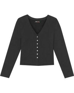 Black 22h50 Cardigan