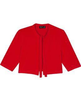 Red Est Cardigan