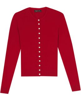 Red Swing Cardigan