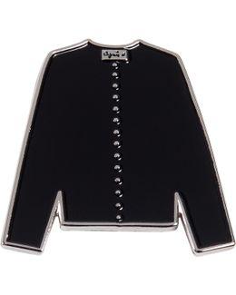 Black Cardigan Pin