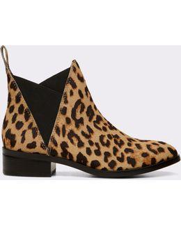 Scotch Ponyhair Chelsea Boots
