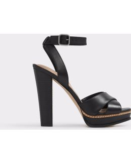 Norell Leather Platform Sandals