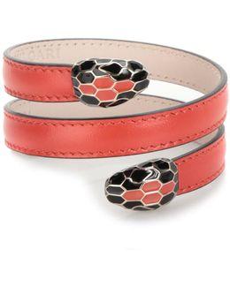 'cleopatra' Medium Leather Bracelet