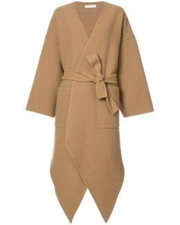Cashmere Asymmetric Coat