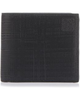 Wallet In Black Saffiano