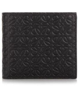 'bifold' Black Wallet