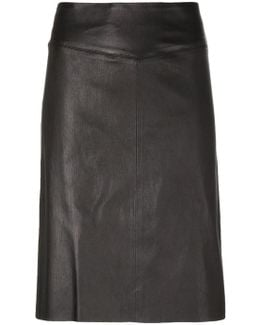 Panelled Fitted Skirt