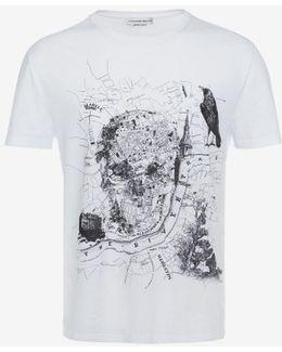 """""""london Map"""" Organic Jersey T-shirt"""