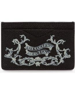 Coat Of Arms Printed Card Holder