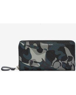 Camouflage Zip Wallet