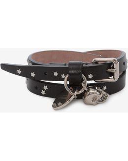 Double-wrap Star-studded Bracelet