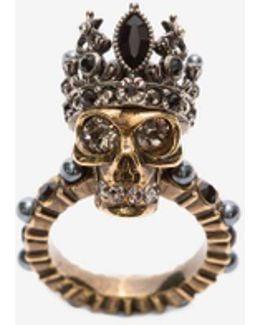 Queen Skull Ring