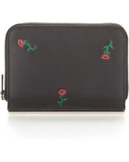 Dime Mini Compact Wallet Bar In Black