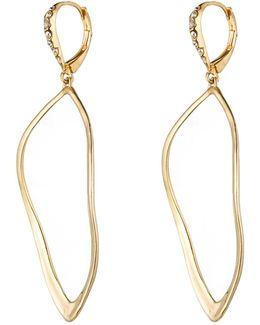 Gold Sculpted Aura Teardrop Earring You Might Also Like