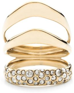 Liquid Gold Crystal Encrusted Draping Ring You Might Also Like
