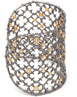 Muse Dor Crystal Studded Spur Lace Cuff Bracelet You Might Also Like
