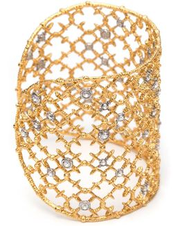 Muse D'ore Gold Crystal Studded Spur Lace Cuff You Might Also Like