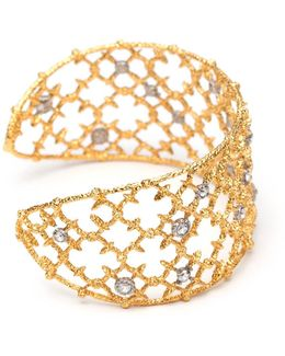 Gold Crystal Studded Spur Lace Cuff Bracelet You Might Also Like