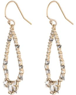 Crystal Encrusted Spiked Tear Earring You Might Also Like