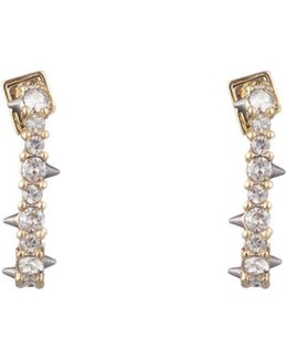 Crystal Encrusted Mini Link Huggie Earring You Might Also Like