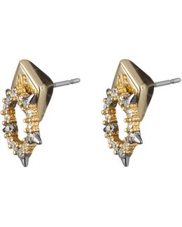 Crystal Encrusted Spiked Stud Earring You Might Also Like