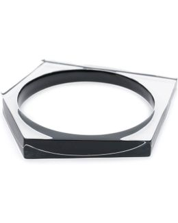 Asymmetrical Pentagon Bangle Bracelet You Might Also Like