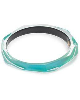 Skinny Faceted Bangle Bracelet You Might Also Like