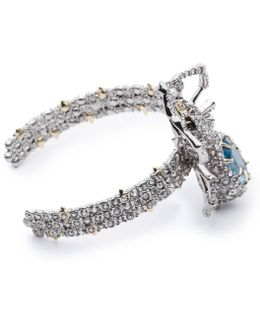 Crystal Encrusted Spider Cuff Bracelet You Might Also Like