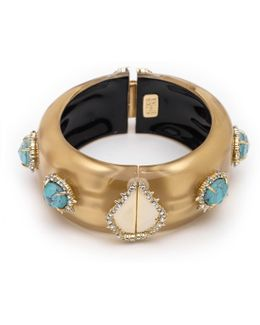 Liquid Silk And Stone Hinge Bracelet You Might Also Like