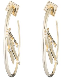 Satellite Crystal Spike Hoop Earring You Might Also Like