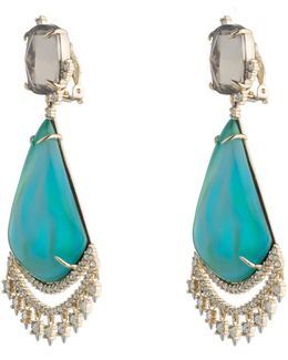 Crystal Lace Chandelier Earring You Might Also Like