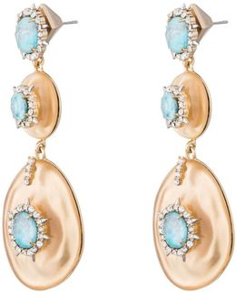 Crystal And Stone Studded Dangling Post Earring You Might Also Like