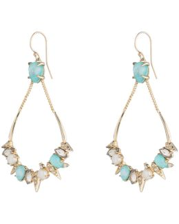 Spiked Stone Cluster Wire Earring You Might Also Like