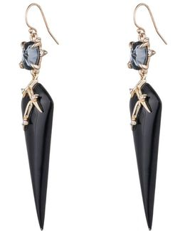 Satellite Crystal Spike Drop Wire Earring You Might Also Like