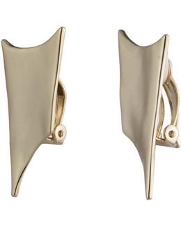 Abstract Thorn Liquid Metal Clip Earring You Might Also Like