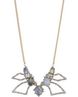 Abstract Petal Bib Necklace You Might Also Like