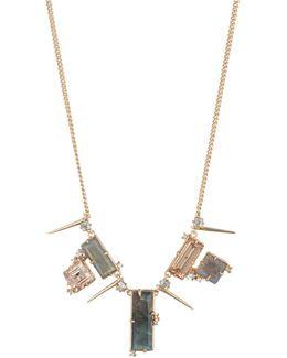 Geometric Stone Bib Necklace You Might Also Like