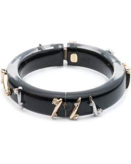 Crystal Spike Hinge Bracelet You Might Also Like