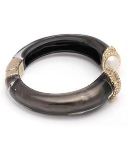 Crystal Encrusted Hinge Bracelet You Might Also Like