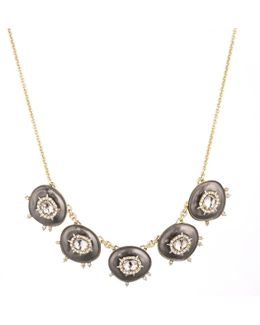 Crystal And Stone Small Bib Necklace You Might Also Like
