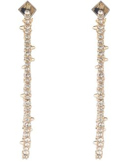 Crystal Encrusted Abstract Thorn Earrings You Might Also Like