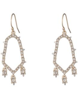 Crystal Encrusted Triple Drop Wire Earring You Might Also Like