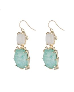 Crystal Accent Stone Drop Wire Earring You Might Also Like
