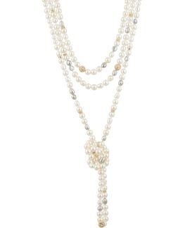 Triple Strand Pearl Knot Necklace You Might Also Like