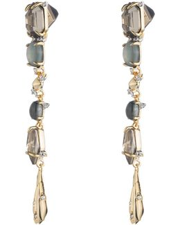 Crystal And Stone Dangling Post Earring You Might Also Like